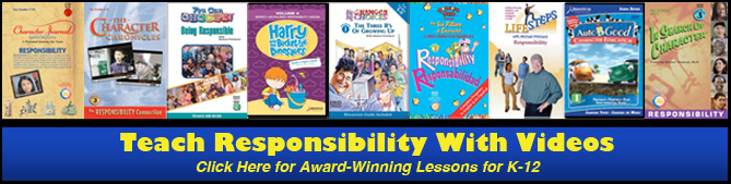 Teach Responsibility with Award-Winning Video Lessons for K-12